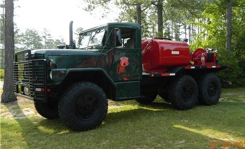 Forest Service Brush Truck