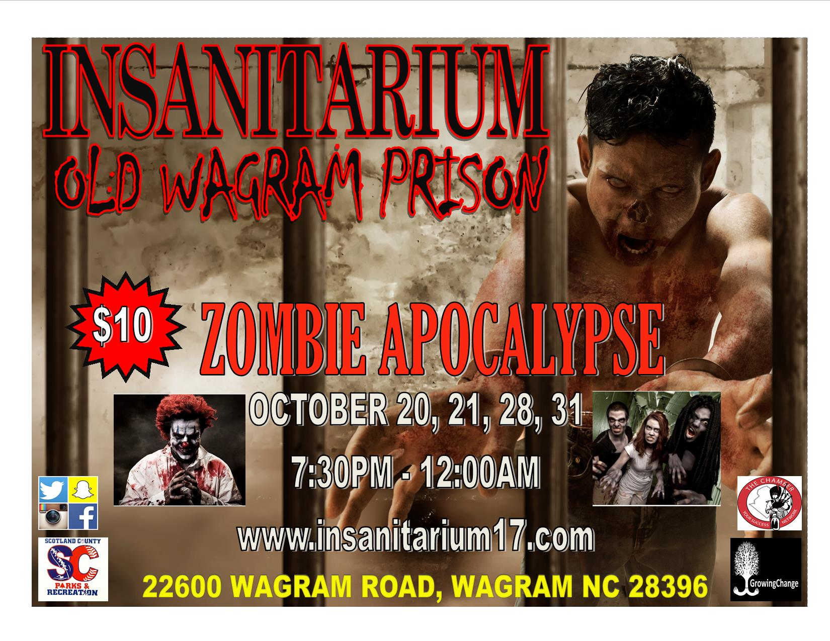 INSANITARIUM FLYER 2