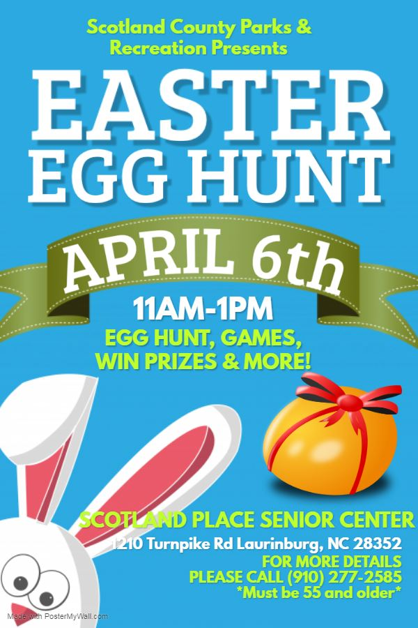 D. Easter Egg Hunt - April 6, 2020